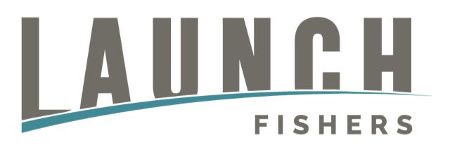 Launch Fishers Logo Full Color